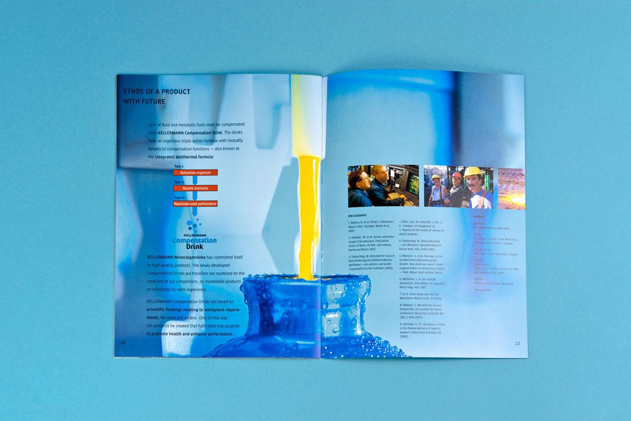 Corporate Design: Kellermann Mineralgetränke :: michaelis design